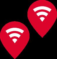 Slider-Leistungen-Gasser-Symbole